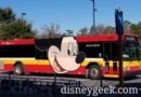 Mickey Mouse Wrapped Bus