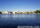 Disney's Yacht Club Resort from a Friendship Boat