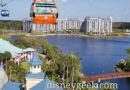 WDW Pictures: Disney Skyliner from Caribbean Beach Resort to Riviera Resort