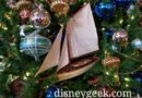 WDW Pictures: Disney's Yacht Club Resort Christmas Decorations & Train Display
