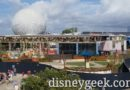 WDW Pictures & Video: Epcot Innoventions Demolition from Monorail (12/17/19)