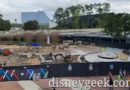 WDW Pictures & Video: Epcot Entrance Renovation (12/17/19)