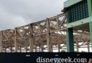 WDW Pictures: Epcot Innoventions Demolition from Ground Level