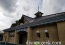WDW Pictures: New Epcot Restrooms Nearing Completion