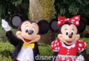 Mickey Mouse & Minnie Mouse @ Epcot International Gateway