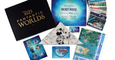202 D23 Gold Members Gifts