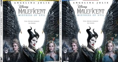 Maleficent Mistress of Evil - home video