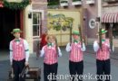 Picture & Video Clip: Dapper Dans of Disneyland performing in Town Square