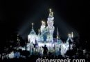 Sleeping Beauty Castle During Wintertime Enchantment