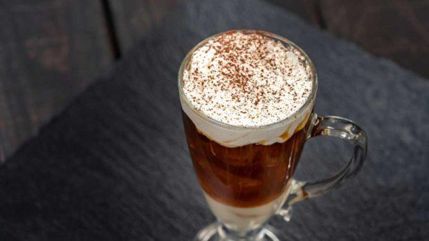 This Vietnamese cold brew with coconut milk (David/Nguyen Disneyland Resort)