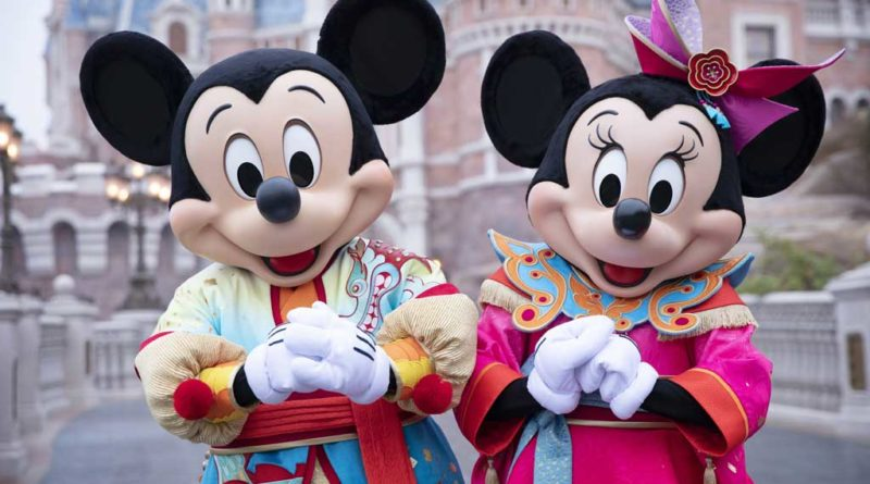 Shanghai Disneyland Spring Festival