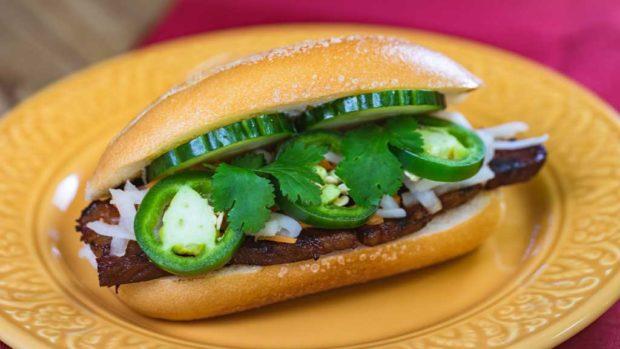 Bahn mi pork sandwich(David/Nguyen Disneyland Resort)