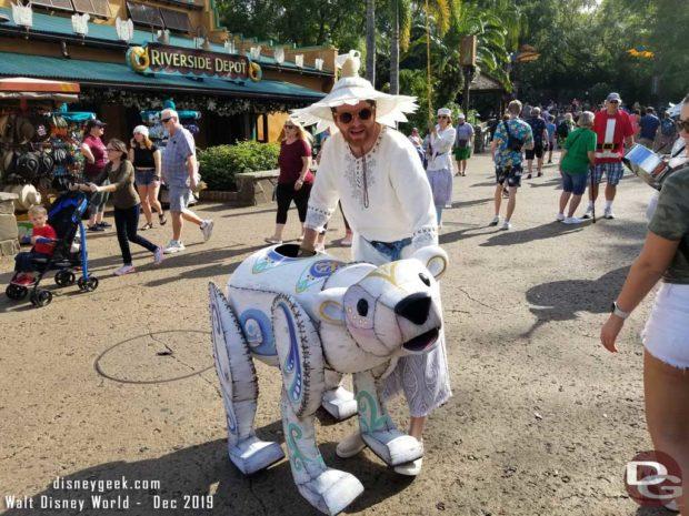 Merry Menagerie @ Disney's Animal Kingdom - Small Polar Bear