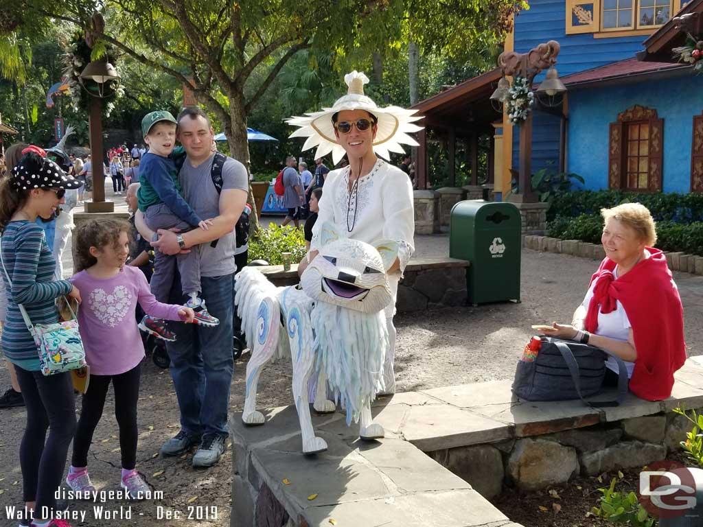 Merry Menagerie @ Disney's Animal Kingdom - Wolf
