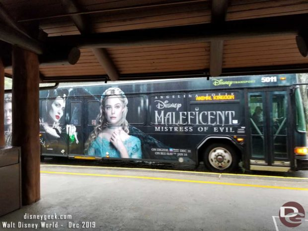 Maleficent: Mistress of Evil Bus