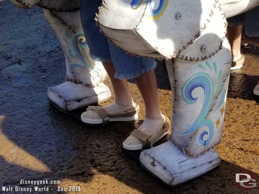 Merry Menagerie @ Disney's Animal Kingdom - Polar Bear Feet