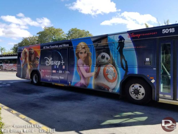 Disney+ Bus