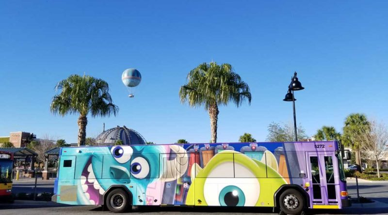 Monsters Inc Bus