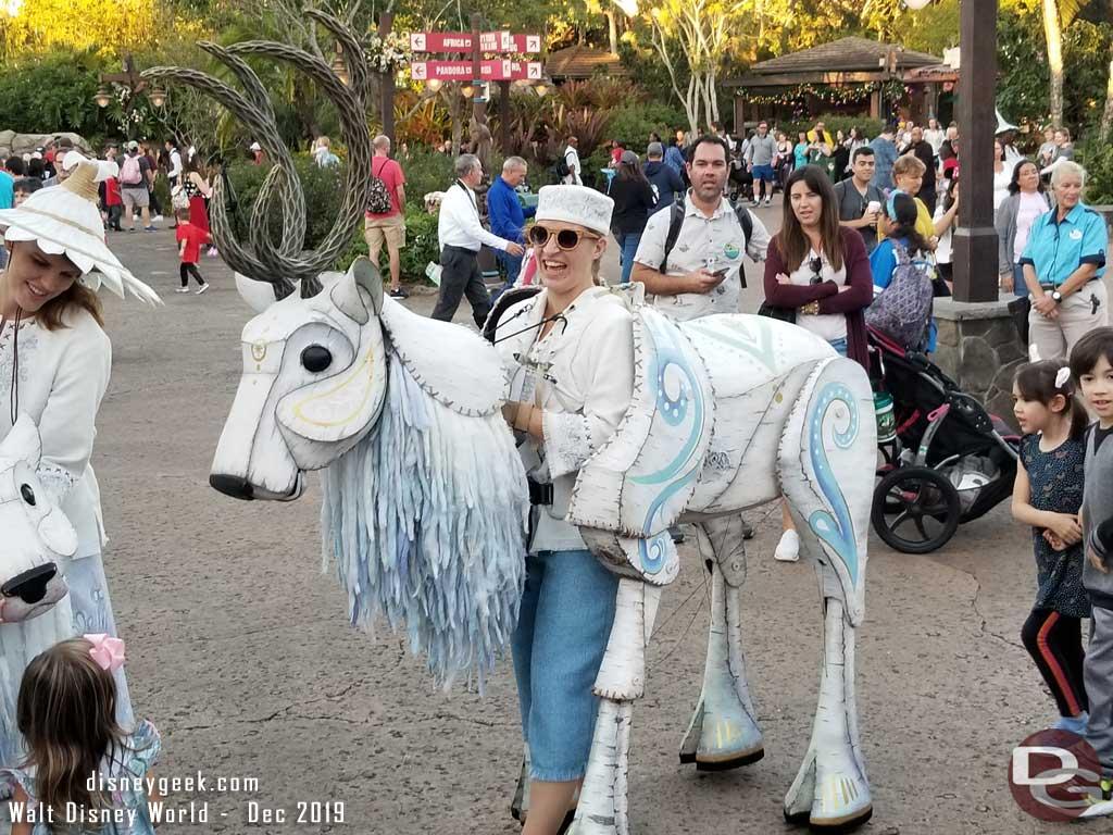 Merry Menagerie @ Disney's Animal Kingdom - Large Reindeer