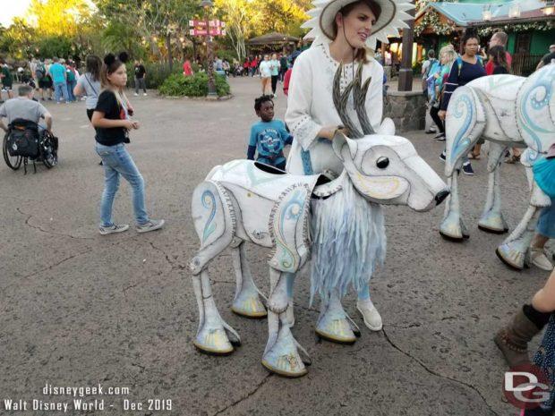 Merry Menagerie @ Disney's Animal Kingdom - small reindeer
