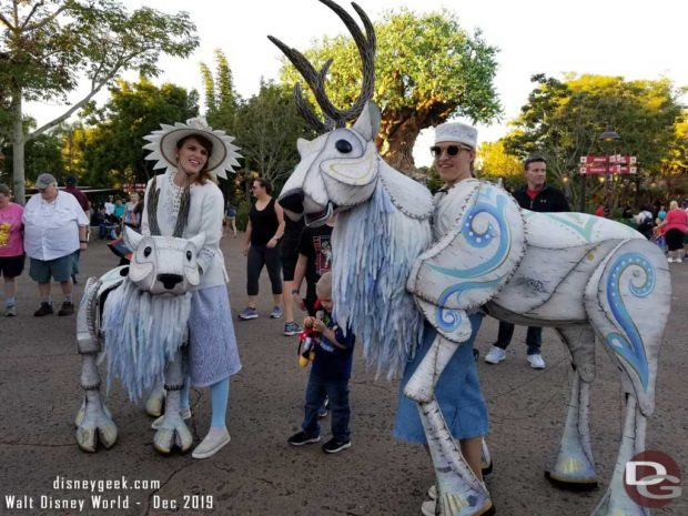 Merry Menagerie @ Disney's Animal Kingdom - two reindeer