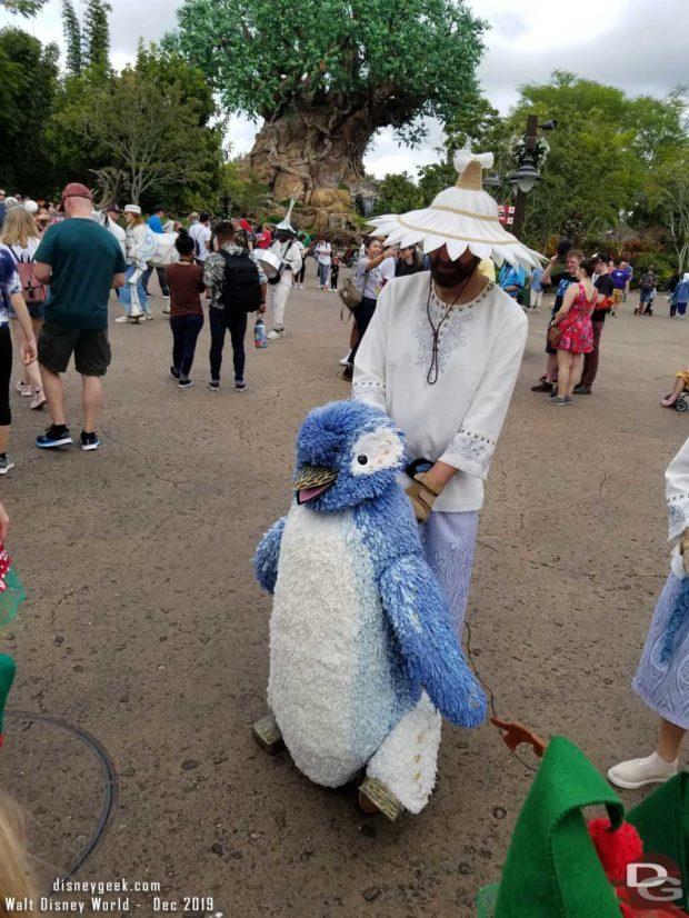 Merry Menagerie @ Disney's Animal Kingdom - large penguin