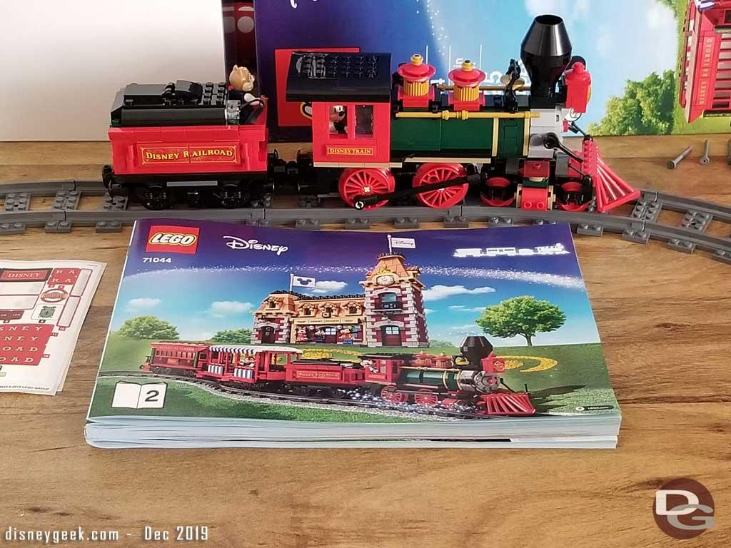 Disney Lego Train - Engine & Tender Complete