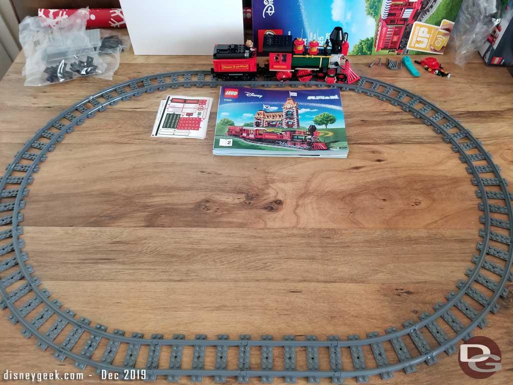 Disney Lego Train - Test Track