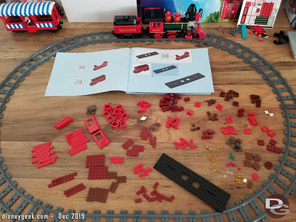 LEGO Disney Train and Station - Caboose