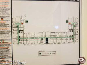 Disney's Newport Bay Floor Map