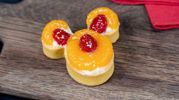 Citrus Mickey tart (David/Nguyen Disneyland Resort)