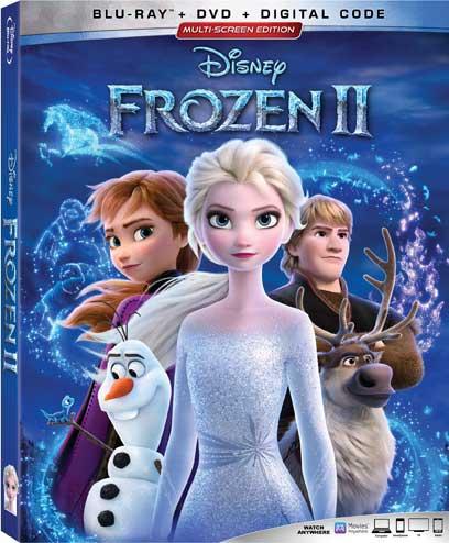 Disney Frozen II Blu-ray box