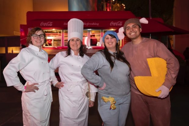 "A ""Ratatouille"" Team at Minnie's Moonlit Madness"