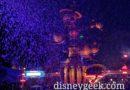 Tomorrowland through the Snowfall