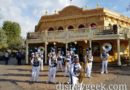 Disneyland Band performing in Frontierland