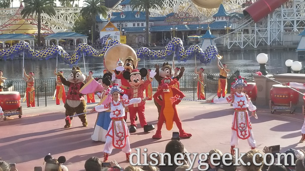 Pictures & Video: Mulan's Lunar New Year Procession 2020