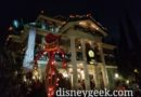 Visiting Haunted Mansion Holiday for one last time this season