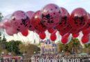 Valentine's Day Balloons on Main Street USA at Disneyland