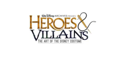 D23 Walt Disney Archives - Heroes & Villains the art of the disney costume