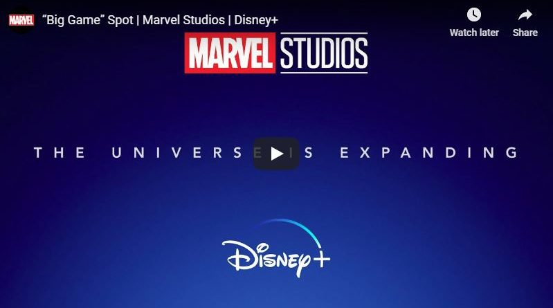 Disney+ Marvel Series