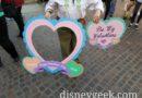 Valentine's Day Photo Props in Fantasyland
