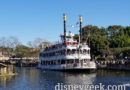 Disneyland Mark Twain Riverboat Cruising the Rivers of America