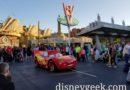 Lightning McQueen Cruising Route 66 in Cars Land