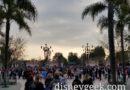 Disneyland Entrance at 7:20am