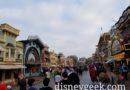 Disneyland Main Street USA at 7:30am