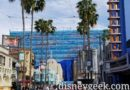 Repainting the Hyperion Facade continues at Disney California Adventure
