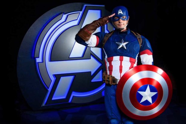 Captain America (Joshua Sudock/Disneyland Resort)