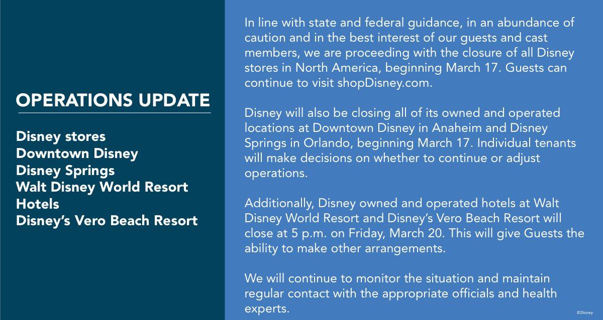 March 15, 2020 Update -