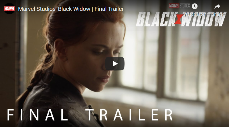 Black Widow Final Trailer