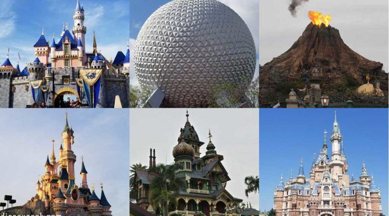 Disney Parks - Disneyland, Walt Disney World, Tokyo Disney Resort, Disneyland Paris, Hong Kong Disneyland & Shanghai Disneyland